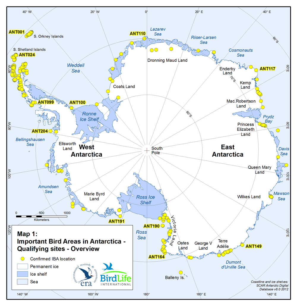 antarctica overview Overview of continental sites visited over 9 seasons (1992/93 - 2000/01) twelve season overview of sites visited in the antarctic peninsula - part 1 (1989/90 - 1994/95) comparison of nationalities (1994/95 - 2000/01.